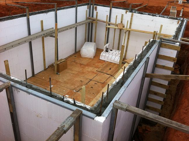 for Insulated concrete forms basement