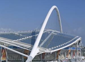 Polycarbonate Athens Olympic Roof