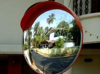 საგზაო ინფრასტრუქტურა -საგზაო სარკე